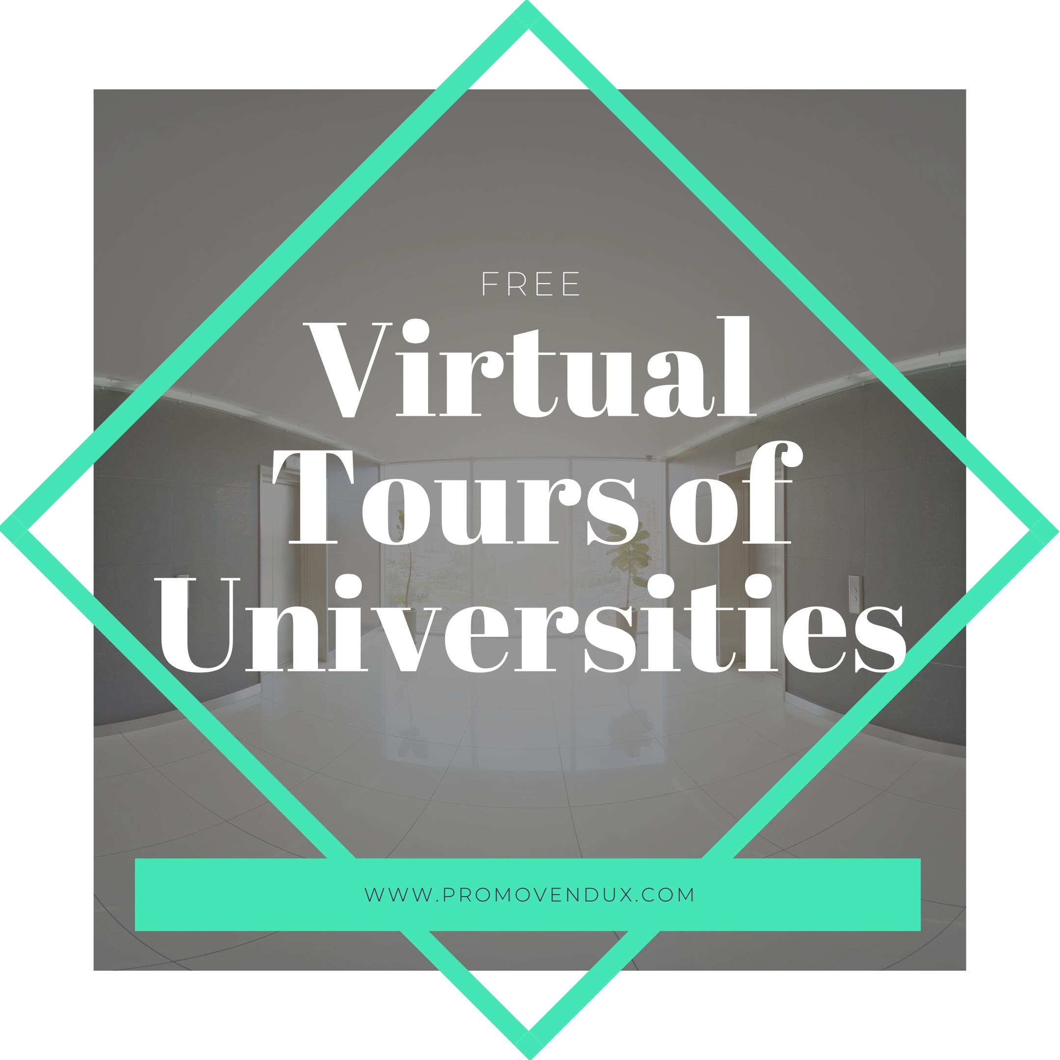 Virtual Tours of Universities